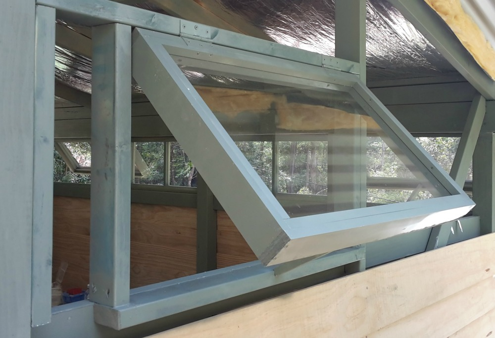 Shed Window Installation