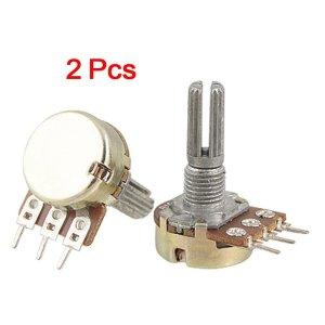 2 Pezzi WH148-K2-4 Potenziometro rotativo angolo di rotazione totale 300 gradi