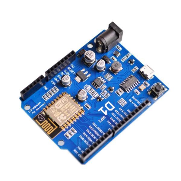 WeMos D1 WiFi ESP8266 80/160Mhz, 4Mb flash Scheda di Sviluppo Compatibile Arduino UNO
