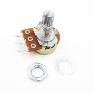 Single Unit with Pulsante Potenziometro / tripod Regolabile Resistenze / WH148 Trimmers / B10K long handle 20MM rachis