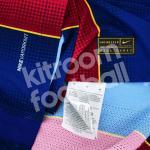 2020-21 Barcelona Home Match Shirt #10 MESSI La Liga4