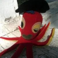 Whatjamacallit Wednesday: The Flirty Red Retro Octopus