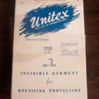 More Menstruation History: Unitex Sanitary Panties