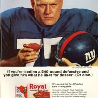 Of Football, Pudding & Pantyhose