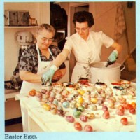Easter Eggs In The Amanas, 1969