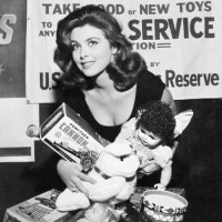 Tina Louise Reminds You To Help Toys For Tots
