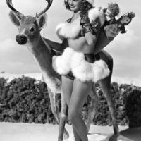 Esther Williams Wishes You A Deer Holiday