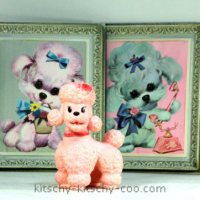 Pink Poodles - And Other Mid-Century Kitsch Dog - Alert!