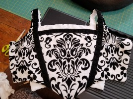 Completed bodice