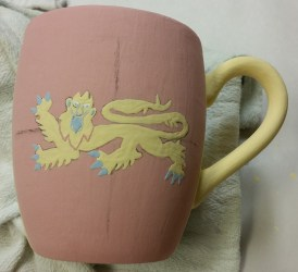 Unfired mug