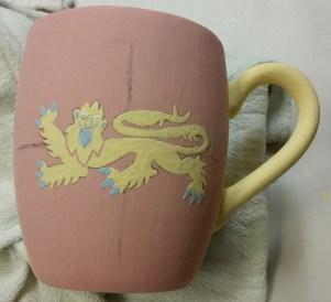 Unfired mug