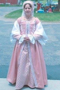 2010 Pink Sheet Gown