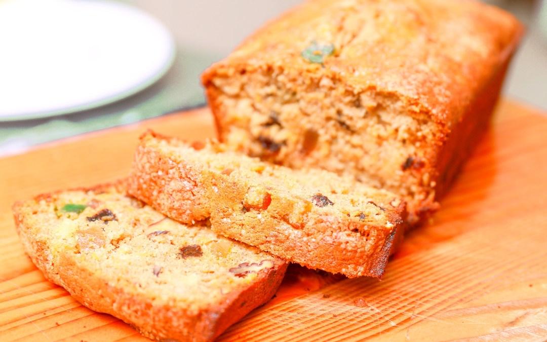 Recette Cake aux Fruits secs et Rhum