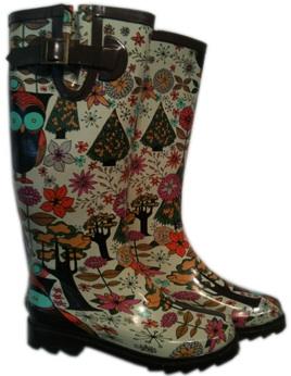 Chooka Gypsy Owl Rain Boots