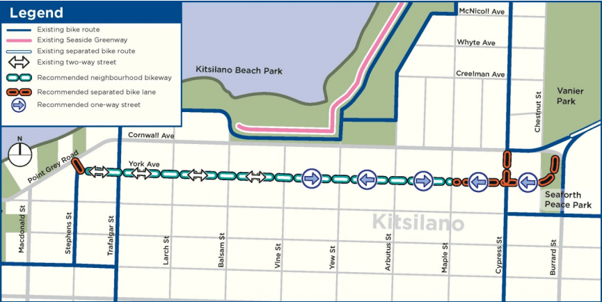 Point Grey-Cornwall Active Transportation Corridor Section 4