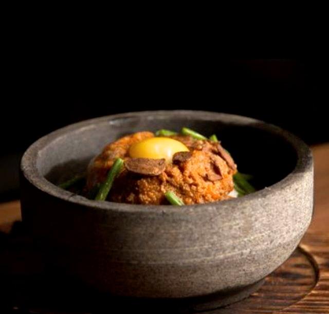 Spicy Pork Ishi-Yaki at Hapa Izakaya
