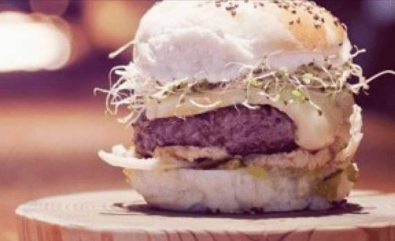 Oakwood burger. Image: Oakwood
