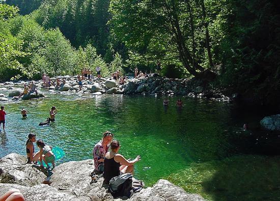 30 ft. pool, Lynn Canyon. Image: TripAdvisor