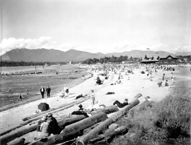 Kitsilano Beach, 1928. Image: Major Matthews