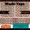 Brown Dots Washi Freebie