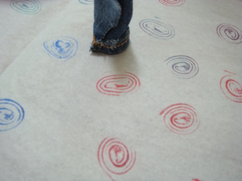 Make Your Own Denim Stamp Tutorial