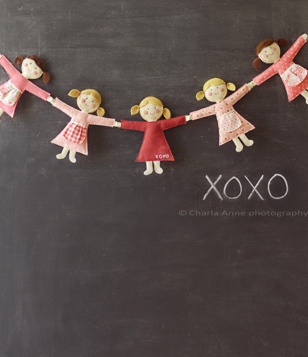 Little Dolls Bunting Tutorial