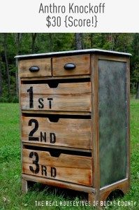 Numbered Dresser Tutorial