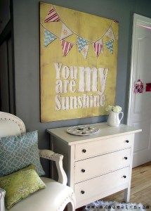 Sunshine Wall Art Tutorial