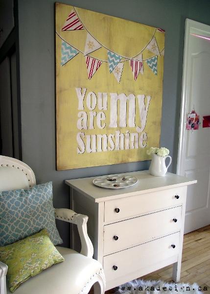 Sunshine Wall Art Tutorial
