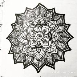Jan 23-29 – Mandala BuJo Closeup…