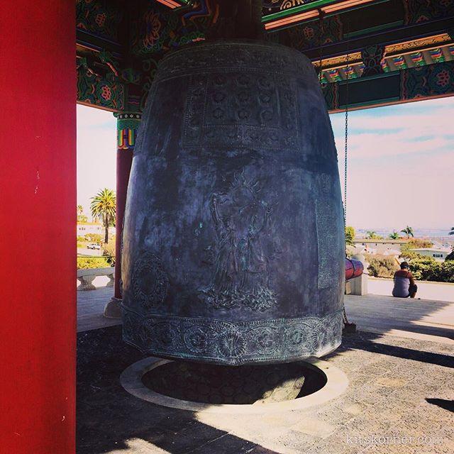 Korean Friendship Bell In San Pedro, CA.