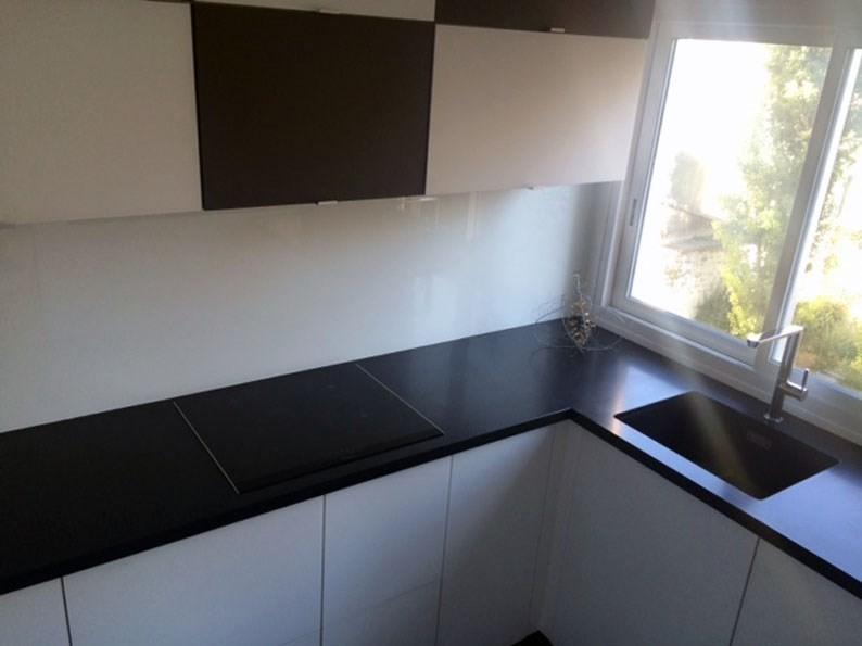 Plan De Travail En Granit Noir Mat Cuisine Paris Ile