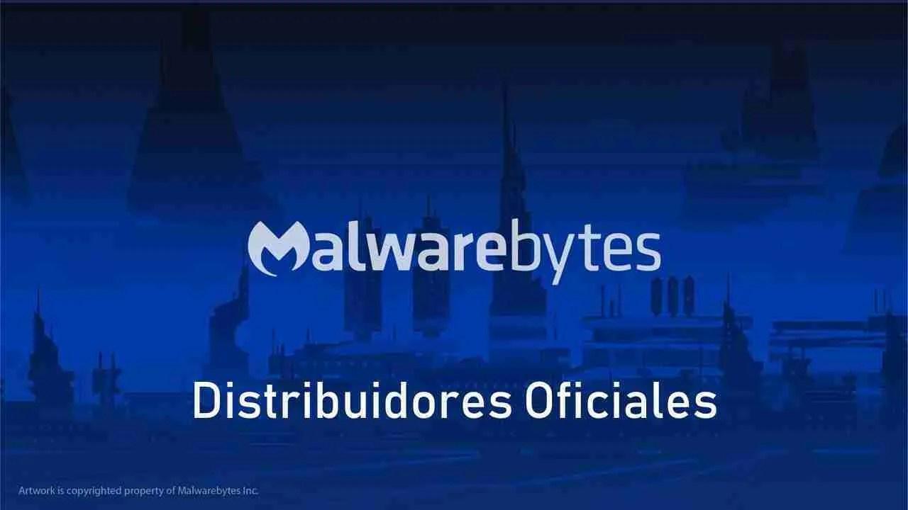 Distribuidores oficiales Malwarebytes
