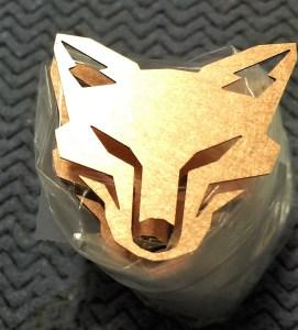 Copper KitsuneHiFi emblem 1.25
