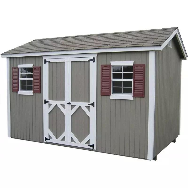 Little Cottage Company Classic Workshop 12 X 16 Storage