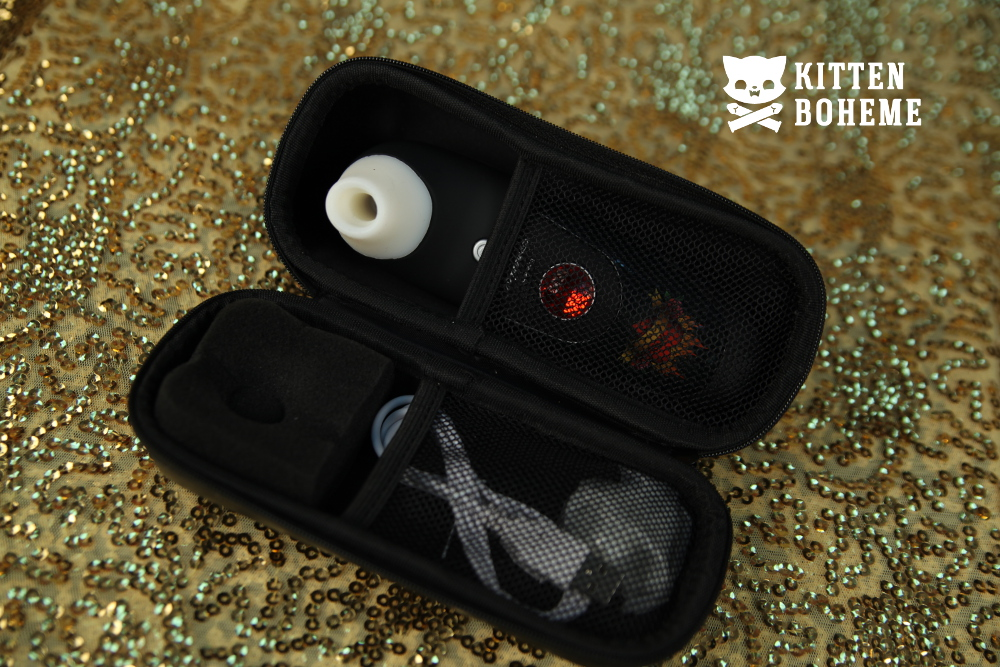 Womanizer W100 with Storage Case Sex Toy Review by KittenBoheme.com