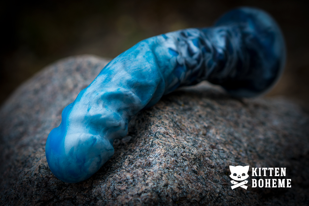 Uberrime Night King Silicone Dildo Sex Toy Review by KittenBoheme.com