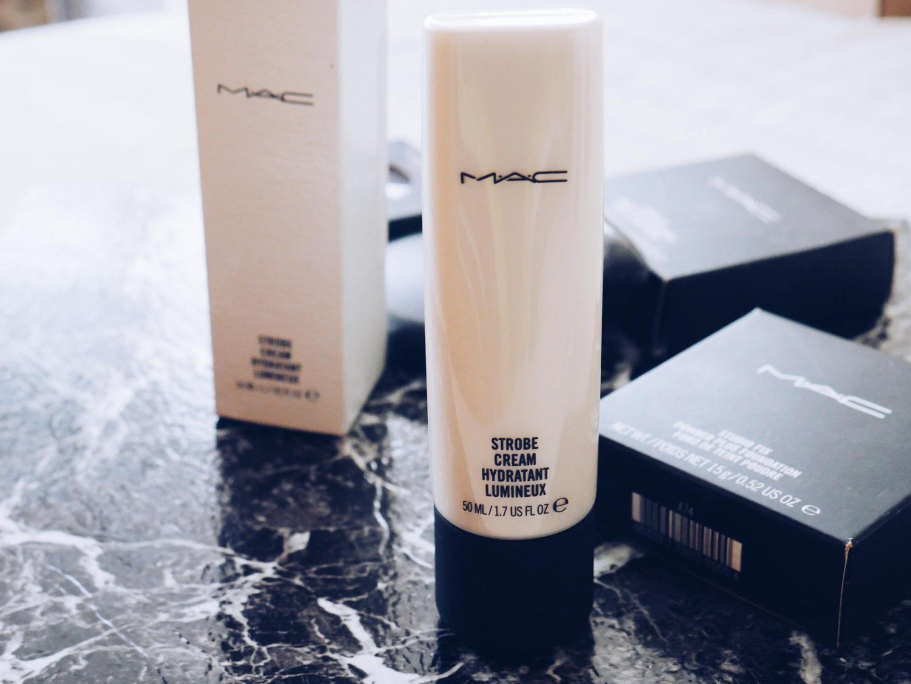 Discount M.A.C Haul Revisited  Strobe Cream Giveaway