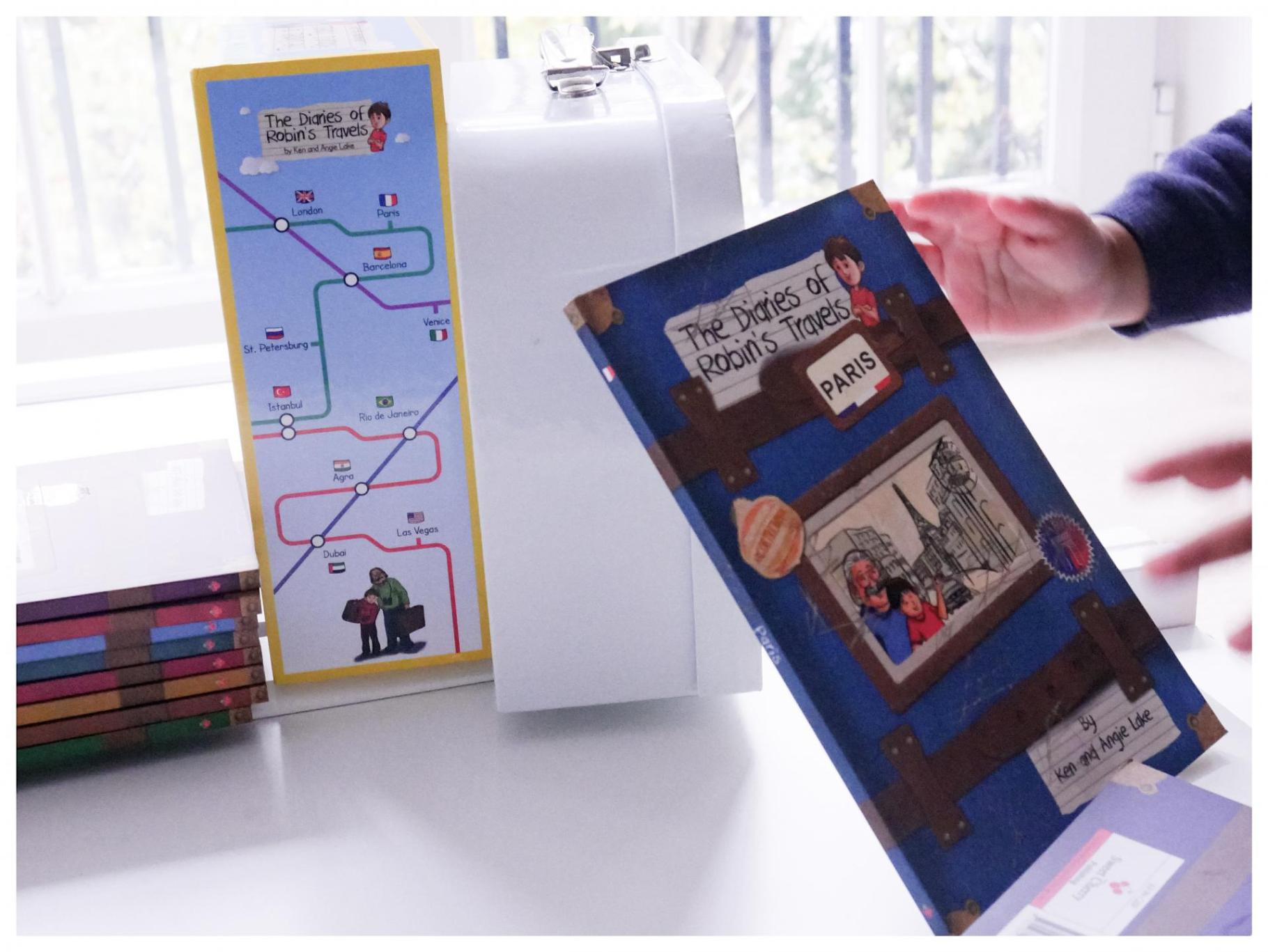The Diaries of Robin's Travels | Kids' Travel Books