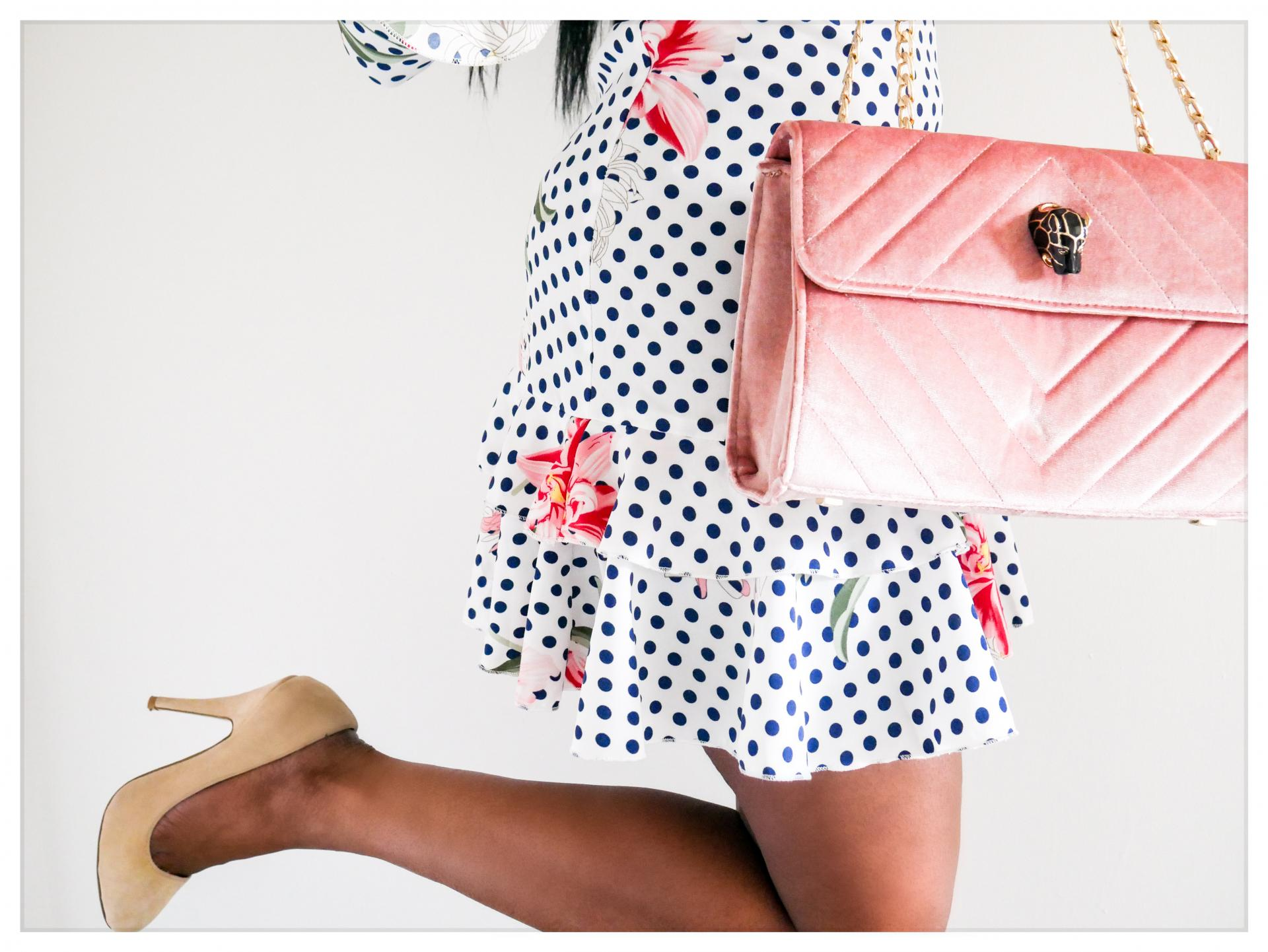 How to wear polka dots  Polka dots are a really versatile, wearable fabric trend to wear  Here we have loads of inspiration for how to wear polka dots in a variety of styles   kittyandb.com #polkadots #fashioninspiration #outfitideas
