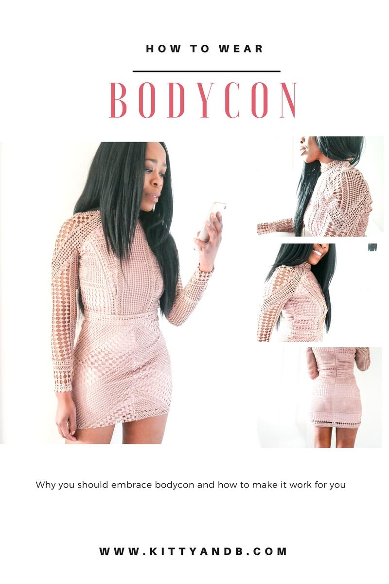 Body-conscious, body confident, sometimes we're one way, sometimes we're another and at times we are own worst enemy because the real body con comes from ourselves. Here's how one body con dress helped bring me body confidence and my tips for wearing body con. #BodyCon #Dresses #Style #Lace #PinkAesthetic