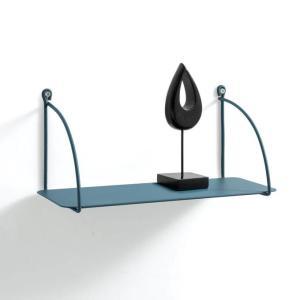 Blue Metal Wall Shelf