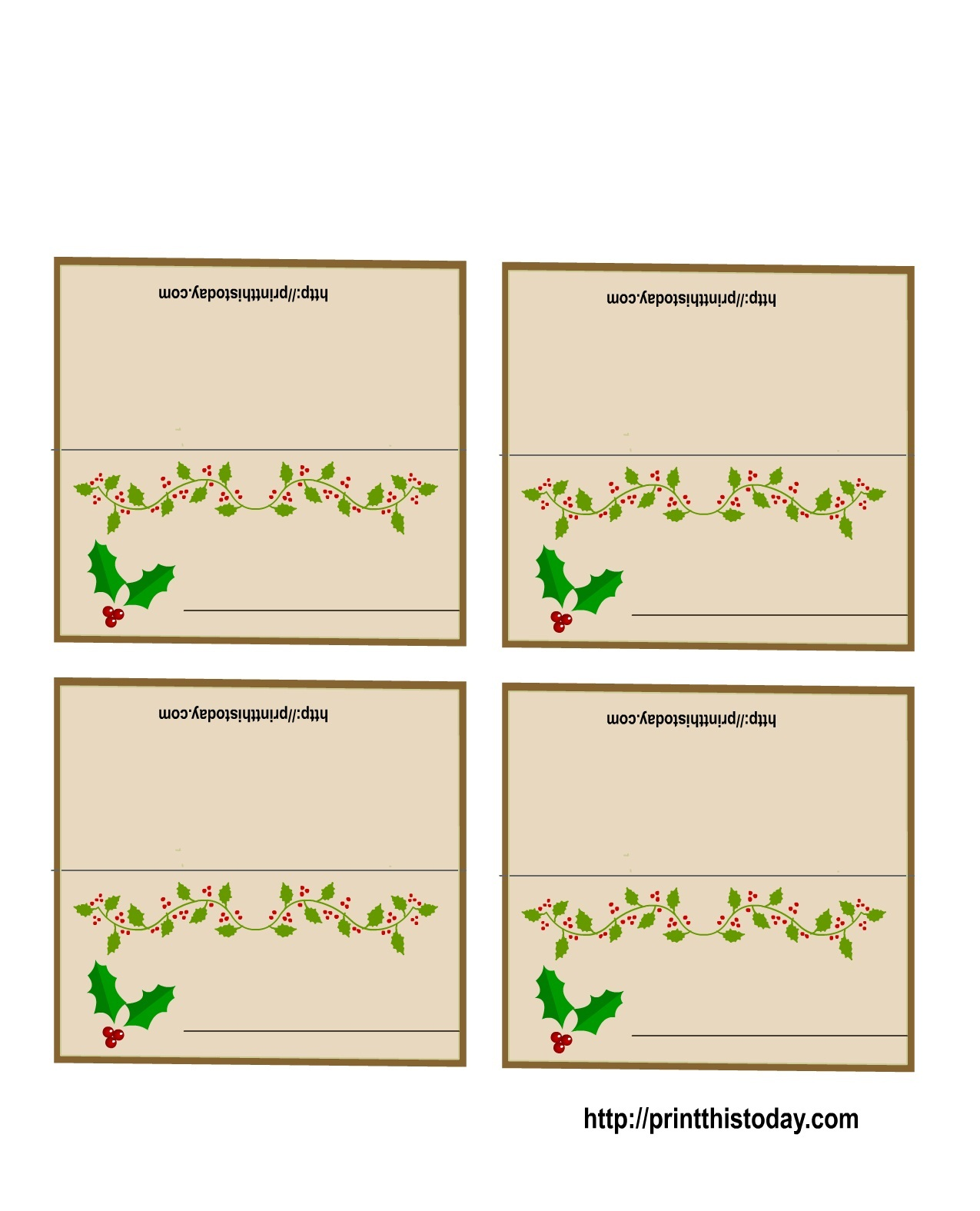 19 Elegant Amp Fun Printable Place Cards