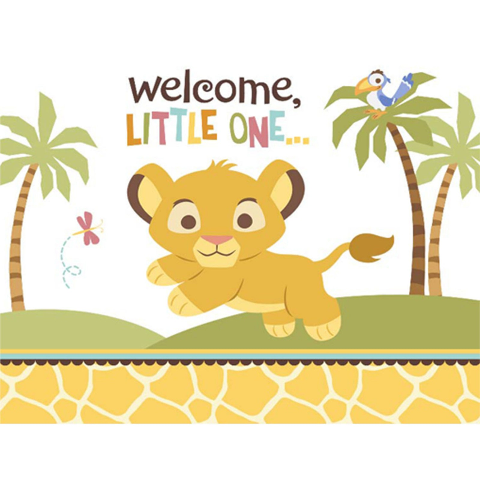 9 Free Lion King Baby Shower Invitations
