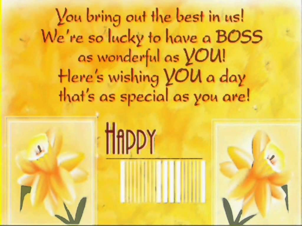 28 Great Boss S Day Cards