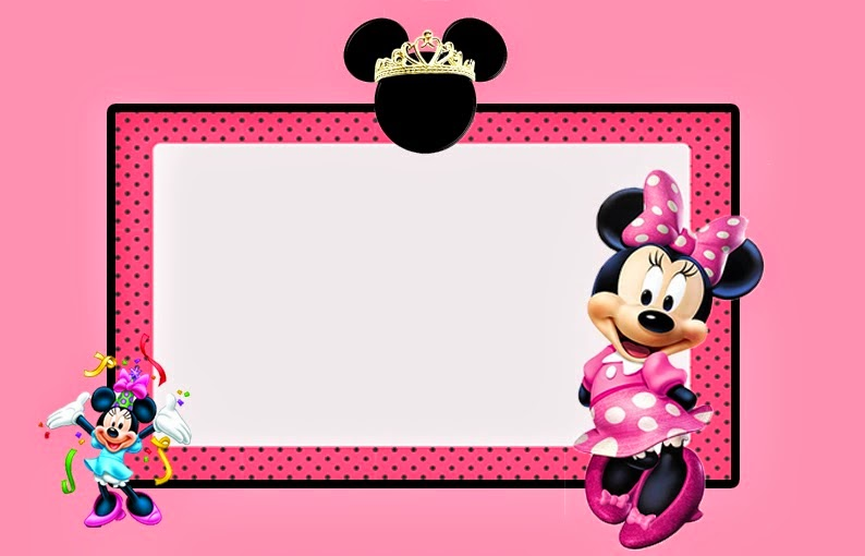 pictures on minnie mouse birthday card