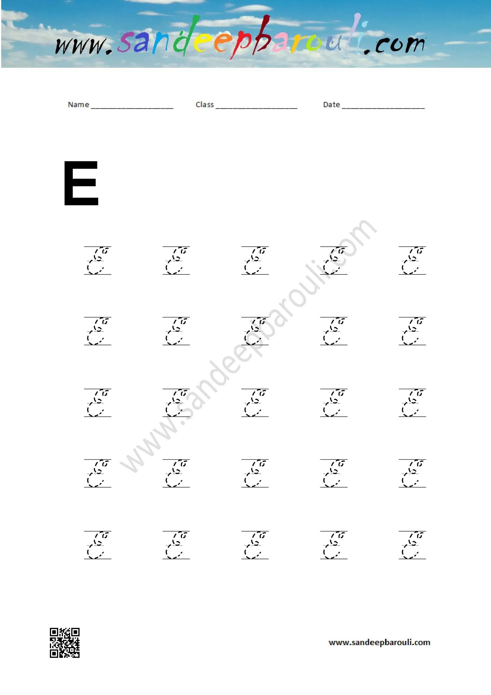 70 Cursive Worksheets For Handwriting Practice