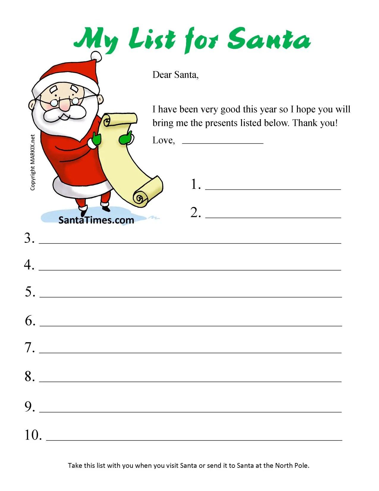 48 Christmas Wish Lists