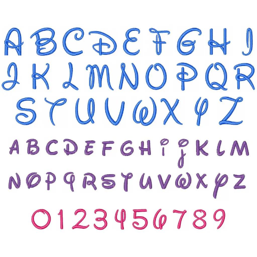 14 Lovely Disney Letter Stencils For All