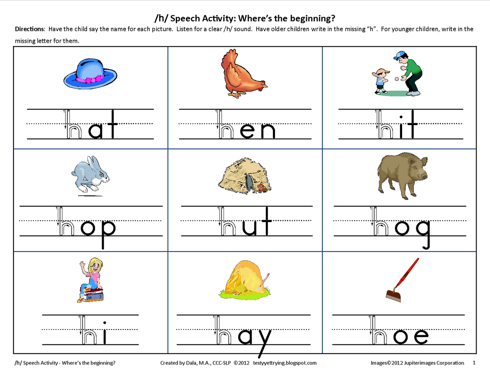 80 Fun Phonics Worksheets